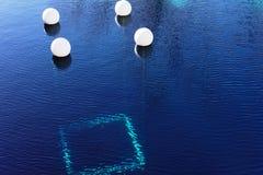 Furo azul, Santa Rosa, nanômetro fotos de stock royalty free