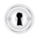 Furo chave Imagem de Stock