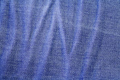 Furo de botão de calças de ganga da sarja de Nimes imagem de stock royalty free