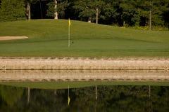 Furo do golfe imagens de stock