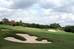 Furo do golfe Imagem de Stock
