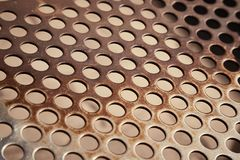 Furo Mesh Pattern imagem de stock