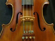 Furo sadio Melody From The Concert Violin 4/4 do violino fotografia de stock royalty free