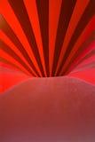 Furo vermelho Foto de Stock Royalty Free