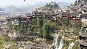 Furong Ancient Town Stock Photo