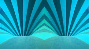 Furos azuis Imagens de Stock