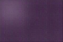 furos da forma 3D no painel metálico Imagem de Stock Royalty Free