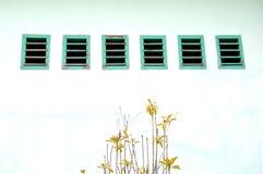 Furos de ar na parede Imagem de Stock