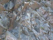 Furos de broca nas rochas imagem de stock royalty free