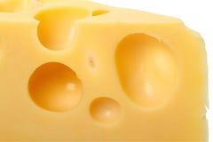 Furos do queijo fotos de stock