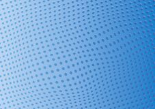 Furos perfurados do fundo azul abstrato Vetor ilustração do vetor