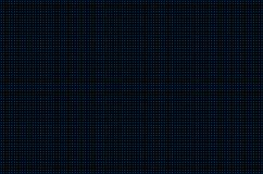 Furos perfurados Grade sem emenda do metal Cerca de fio isolada no fundo preto Teste padrão do círculo Ilustração ilustração royalty free