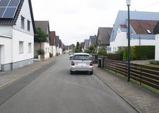 Furpach малый город в западной Германии стоковое изображение rf