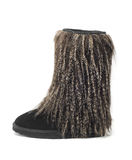 Furry boot Stock Photos