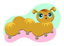 Furry Caterpillar Stock Photo