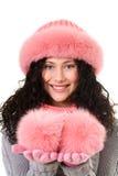 Furry girl Royalty Free Stock Photos