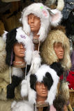 Furry hats Stock Photo