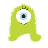 Furry monster Royalty Free Stock Images