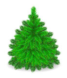Furry  Tree. Royalty Free Stock Image