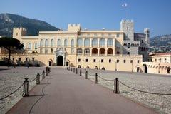 Furstendöme av Monaco, furstlig slott av Monaco Royaltyfria Foton