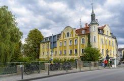 从Furstenfeldbruck,德国的旅馆赫尔曼 免版税图库摄影