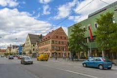 Furstenfeldbruck,巴伐利亚,德国 库存图片