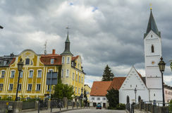 Furstenfeldbruck, Βαυαρία, Γερμανία Στοκ εικόνα με δικαίωμα ελεύθερης χρήσης