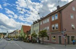 Furstenfeldbruck, bayerische alte Stadt in Deutschland Stockfotografie