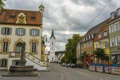 Furstenfeldbruck, bayerische alte Stadt in Deutschland Stockbild