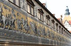 Furstenzug in Dresden, Deutschland Lizenzfreie Stockfotografie
