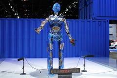 Furten, die Roboter bekanntmachen Stockfoto