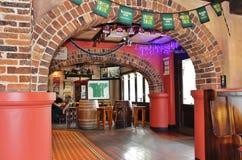 Furtianu domu irlandczyka pub Obrazy Stock