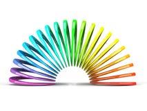 Furtivo multicolor aislado en el fondo blanco Fotografía de archivo libre de regalías