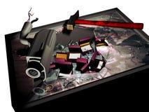 Furto dei gioielli Fotografia Stock Libera da Diritti