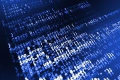 Furto di dati del pirata informatico Virus di calcolatore Fotografie Stock