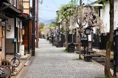 Furukawa, Hida Fotografia Stock