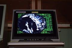 Furuno S-musikband radar 10 cm Arkivbilder