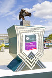 Furusiyya Nations Cup trophy Stock Images