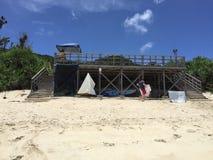 Furuzamami wyrzucać na brzeg, Zamami wyspa, Okinawa, Japonia, piękna plaża zadziwia, wspaniały, Zdjęcie Royalty Free