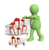 fury konsumpcyjny prezentów target208_1_ ilustracja wektor