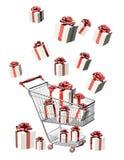 fury prezentów target181_1_ ilustracja wektor