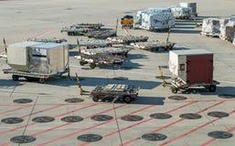 Fury przy lotniskiem zdjęcie stock