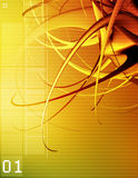 fusão 3D Imagens de Stock