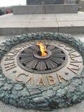 Fusée éternelle à Kiev photographie stock libre de droits
