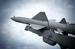 Fusée antiaérienne Photos libres de droits