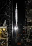 Fusée d'Ares IX photographie stock libre de droits