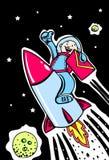 fusée d'email Image libre de droits