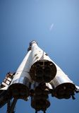 Fusée d'espace image stock