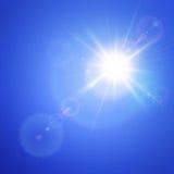 Fusée de lentille Photo libre de droits