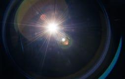 Fusée de lentille photographie stock libre de droits